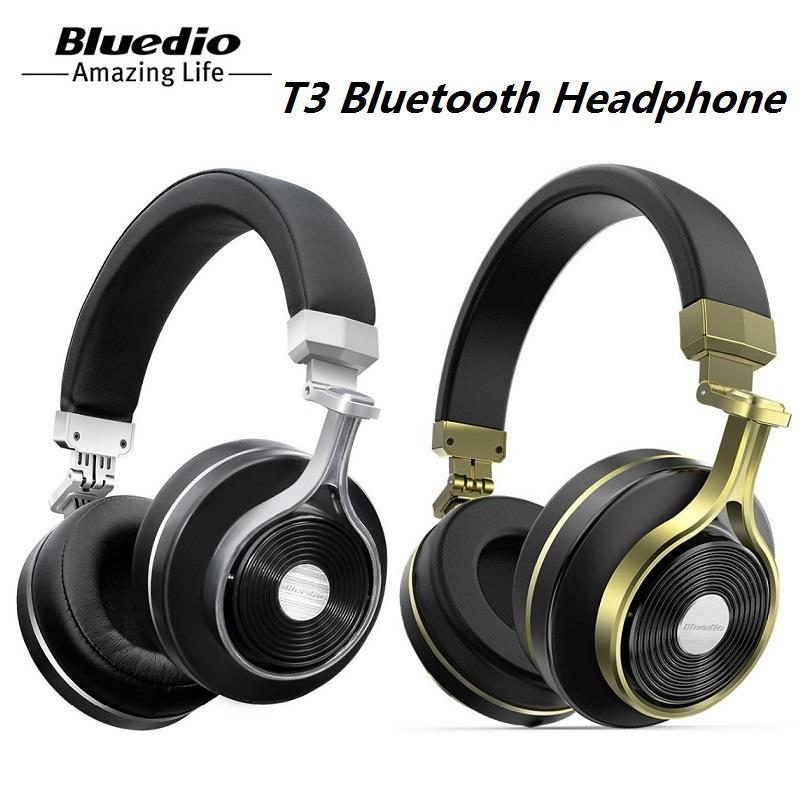 f2bc5c6a840 Bluedio T3 3D Bass Foldable Wireless Bluetooth 4.1 Stereo Headphones. ‹ ›