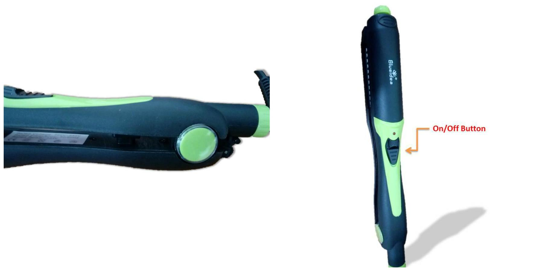 Blueidea 4 in 1 Hair Straightener/Curl/Waffle/Sauvage