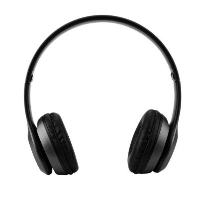 Bluetooth Foldable Headset Stereo Headphone Earphone (BLACK)