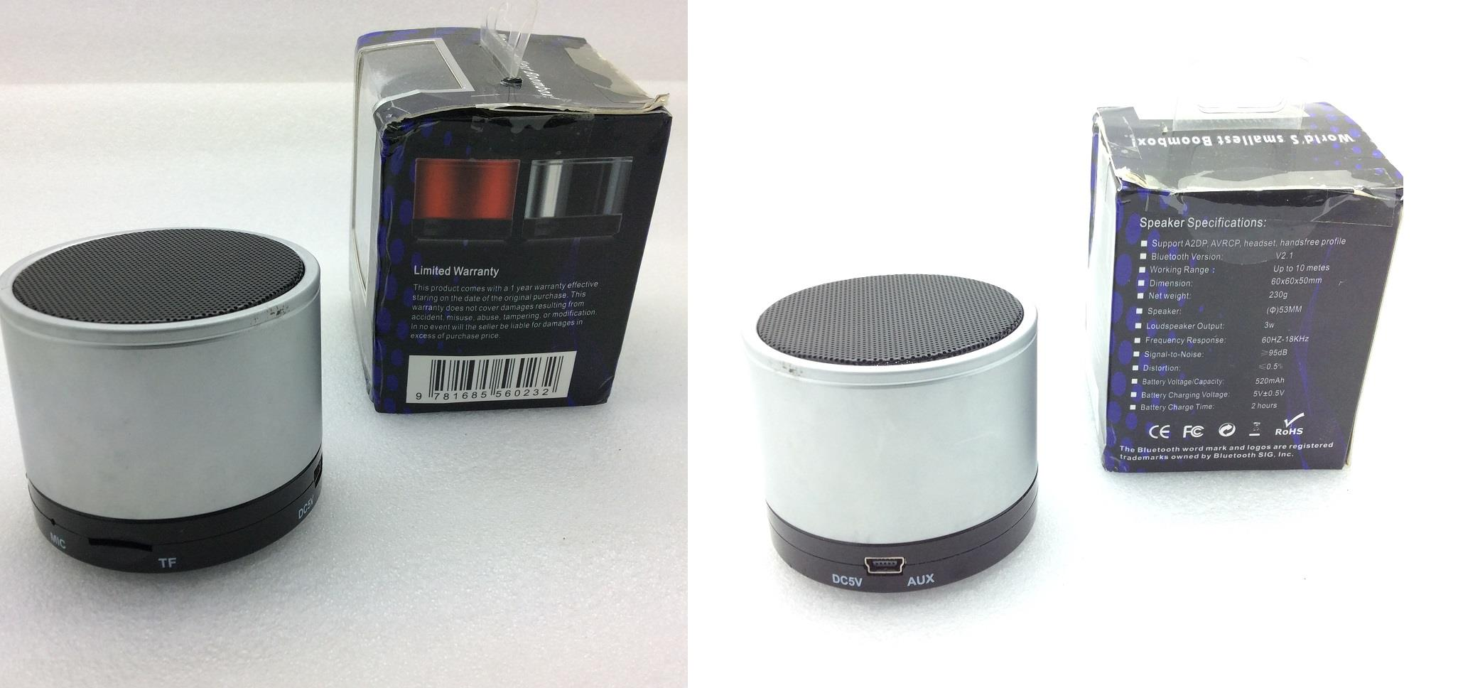 Bluetooth Speaker - World's Smallest Boombox 2