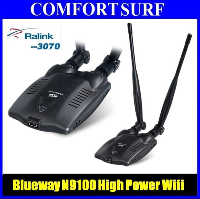 Blueway BT N9100 High Power Wireless USB WIFI Adapter vs SIGNALKING