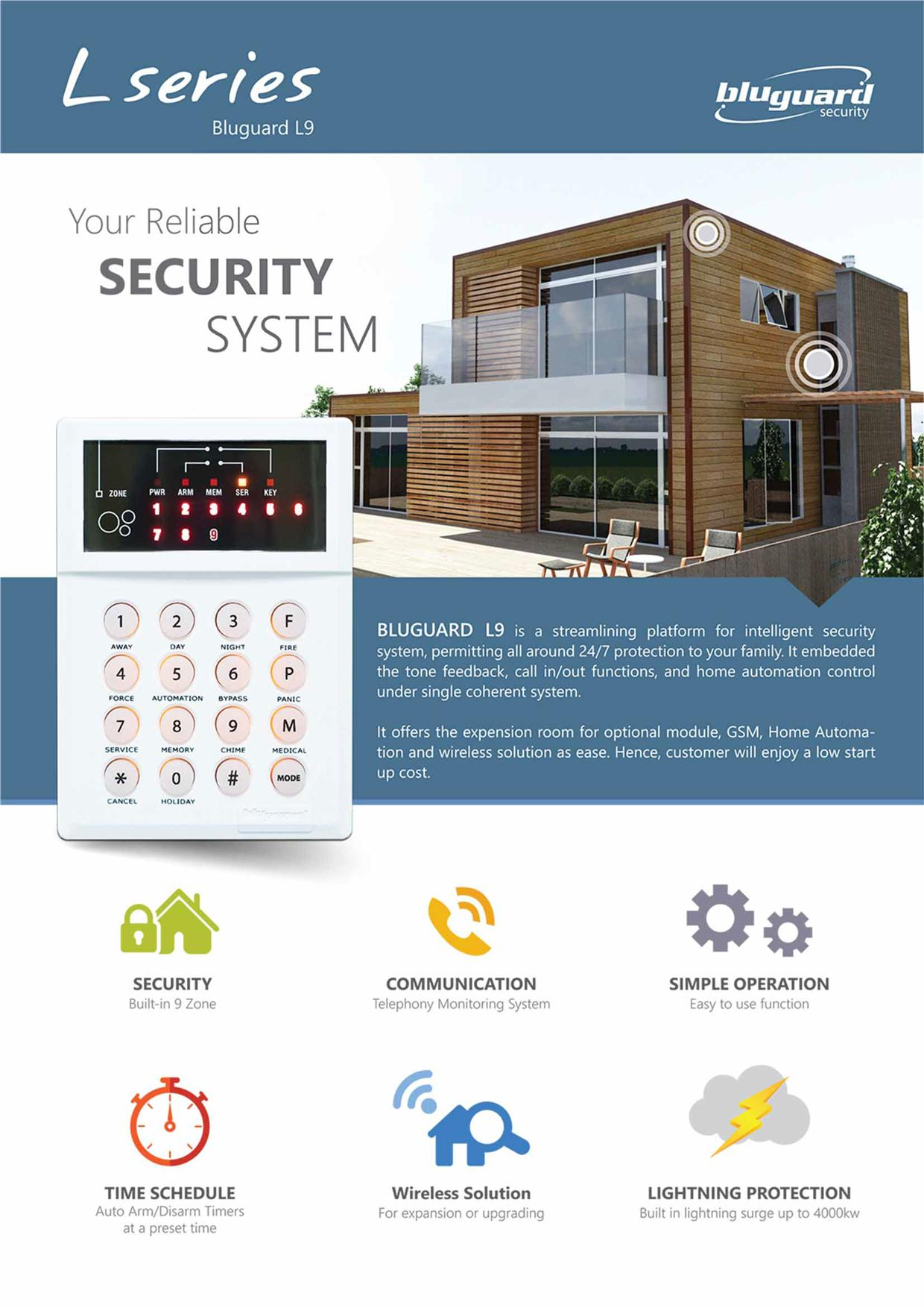 Bluguard Wireless Alarm System Price Malaysia Wire Center Circuit Signalprocessing Diagram Seekiccom For Home Off End 1 11 2019 7 15 Pm Rh Lelong Com My Driveway Security Systems