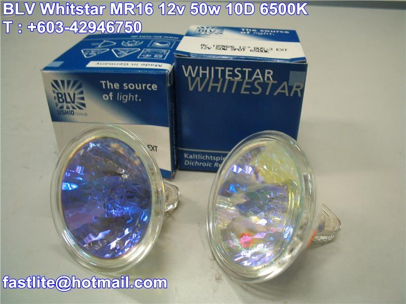 BLV Whitestar MR16 12v 50w 6500K Daylight White (Germany)