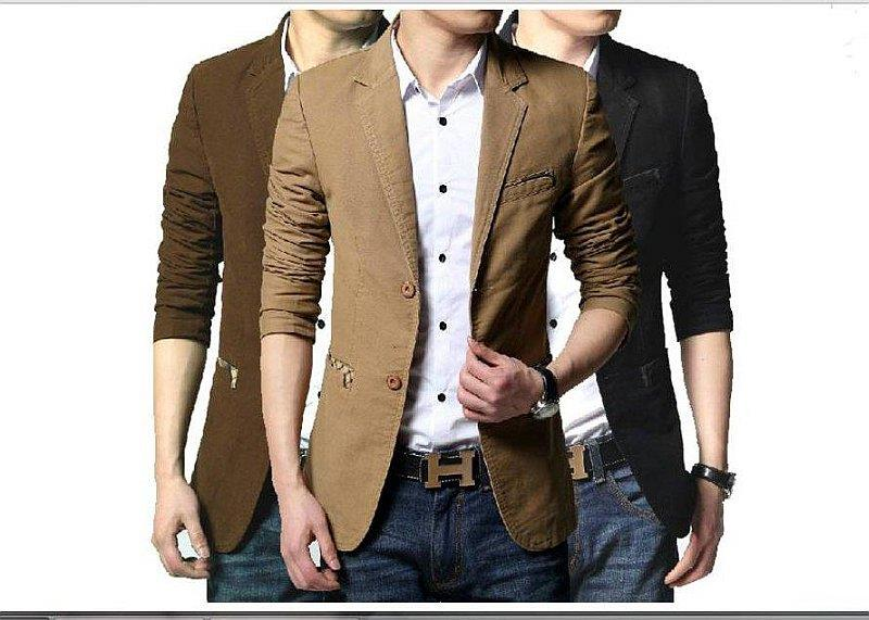 BM76 COTTON BLAZER SLIM STYLE MEN'S (end 7/28/2018 6:52 PM)