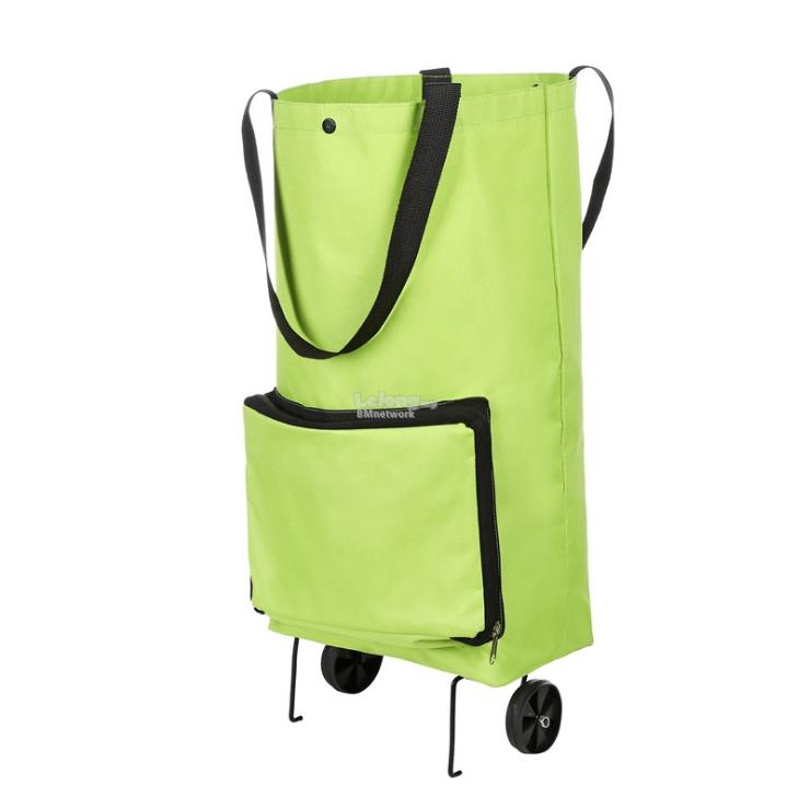 BMNETWORK Portable Shopping Trolley Bag With Wheels