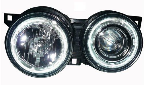 BMW 3 SERIES E30 '83-87 CCFL Ring Projector Head Lamp