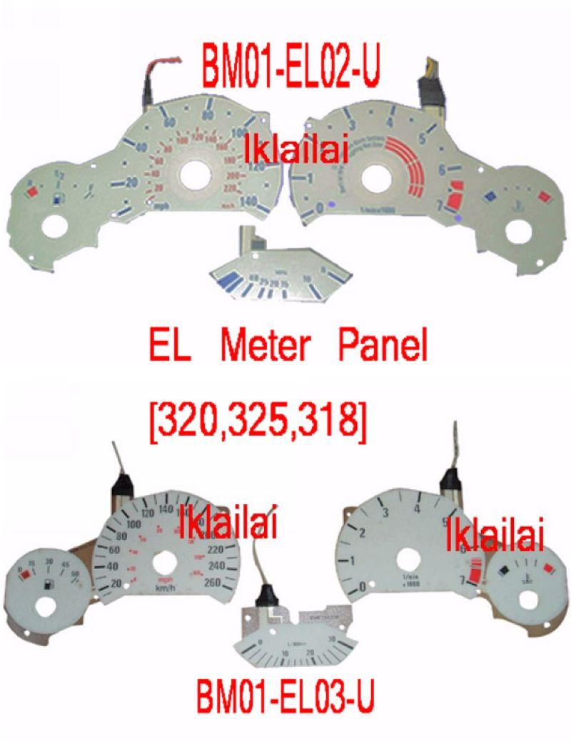 BMW 3 Series E36 '91-97 EL Meter Panel [318/320/325]