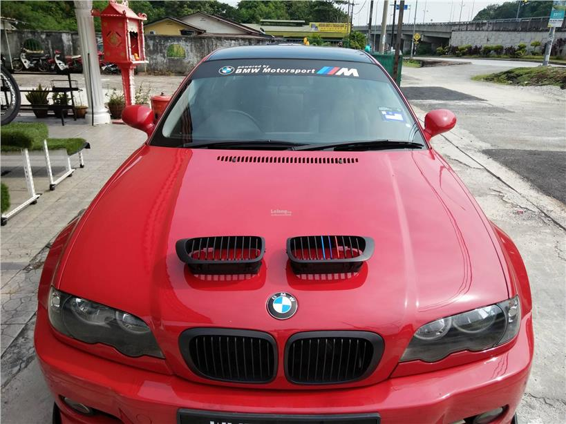 Bmw 3 Series E46 02 05 Year Tricolour Front Grill