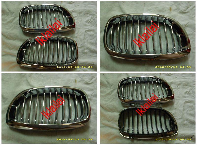 BMW 3 Series E46 `02 2D Front Grille Chrome [BM02-FG07-U]
