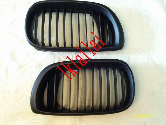 BMW 3 Series E46 `02 4D Front Grille All Black [BM02-FG05-U]