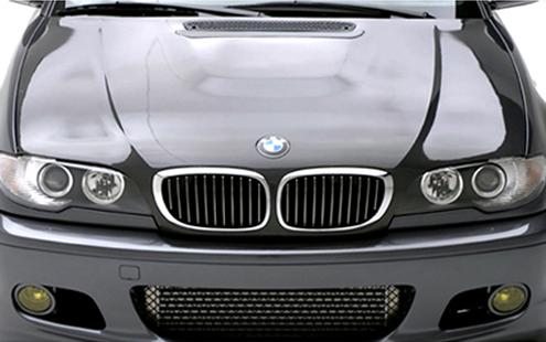 BMW 3 Series E46 `98-04 2D `02 Engine Hood W/ 3D Carbon [BM02-EH04-U]