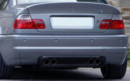 BMW 3 Series E46 `98-04 2D Rear Trunk CSL Style W/ FRP [BM02-SR13-U]