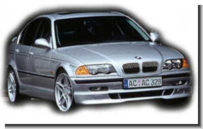 BMW 3 Series E46 `98`04 4D ACS Skirting PUR (Front,Side,Rear)