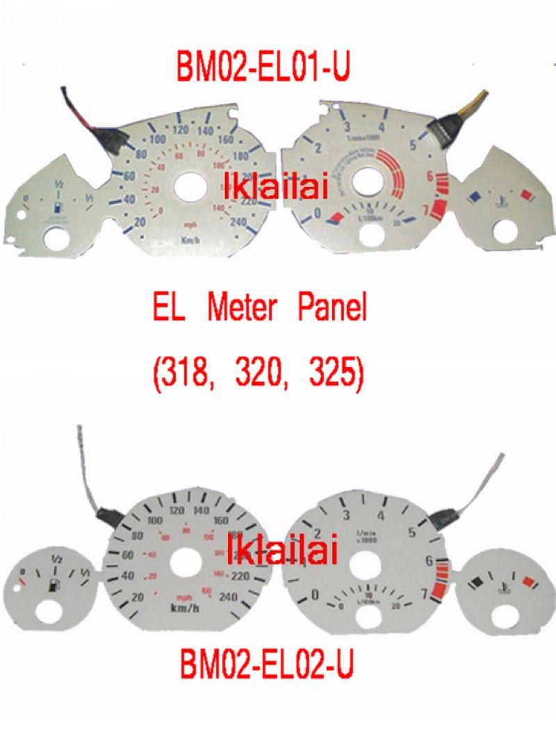BMW 3 Series E46 `98-04 EL Meter Panel [318/320/325]