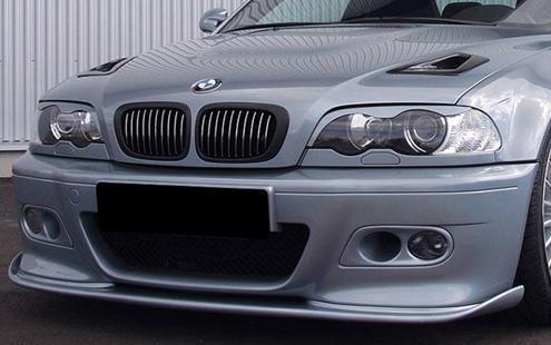 Bmw 3 Series E46 98 04 M3 Hamann Style Front Lip Pur Bm02 Bk25 U