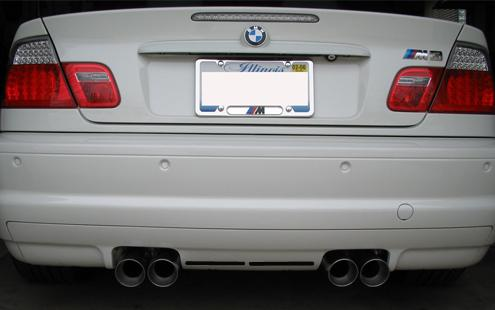 BMW 3 Series E46 `98-04 M3 Style Rear Bumper 2 Hole [PP] [BM02-BK28-U]
