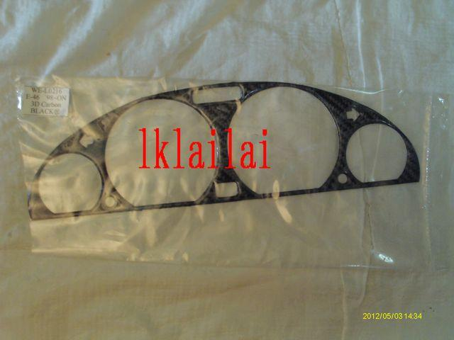 BMW 3 Series E46 `98-`04 Meter Panel W/3D Carbon [BM02-MP07-U]