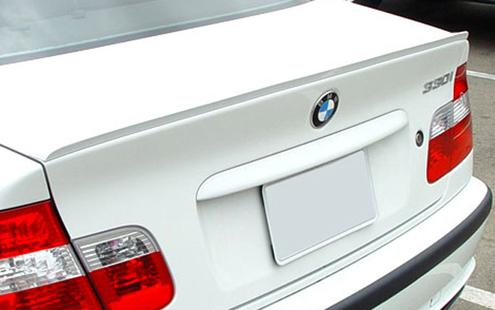 BMW 3 Series E46 `98-04 Rear Trunk Spoiler M3 Style PUR [BM02-SR06-U]