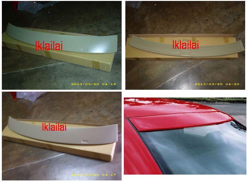 BMW 5 Series E39 `95-02 Rear Roof Spoiler ABS [BM12-SR01-U]