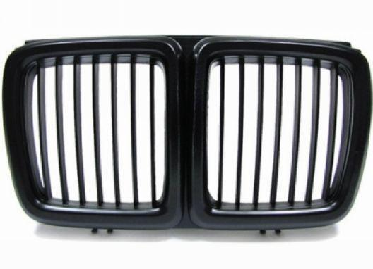 BMW 7 Series E32 `88-94 Front Grille All Black [BM30-FG01-U]