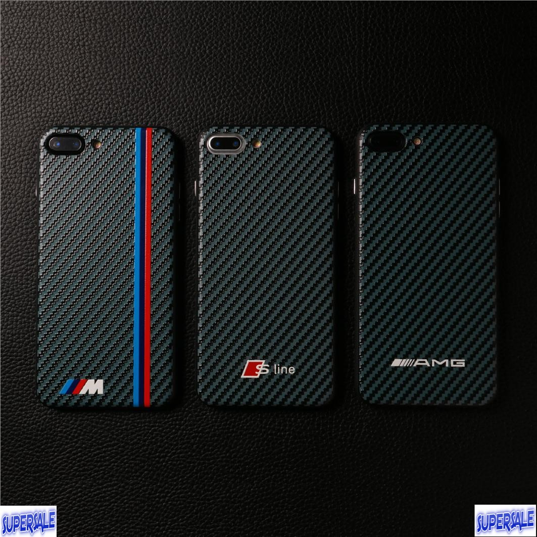 differently 4e217 cb0d1 BMW AMG SLine Logo Casing Case Cover for iPhone 6 / 6 Plus