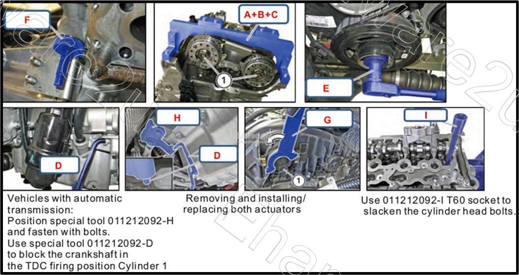 BMW B38 B46 B48 Engine Timing Set (4593)