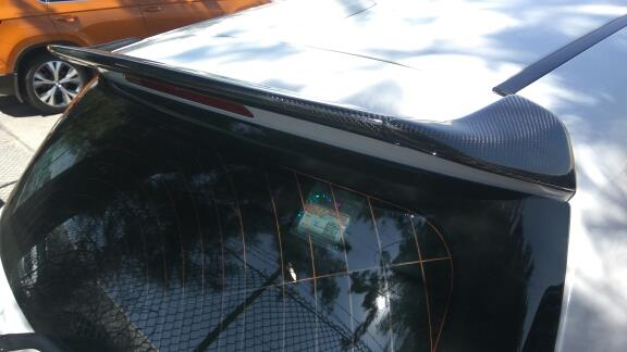 BMW Carbon Fiber F20 F21 1 Series Rear Roof Spoiler AC Style