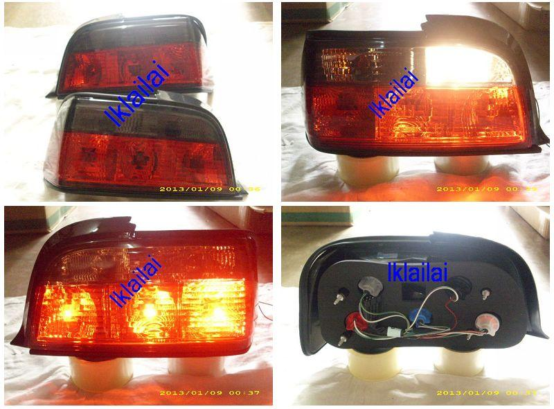 BMW E36 2D '92-97 Crystal Tail Lamp