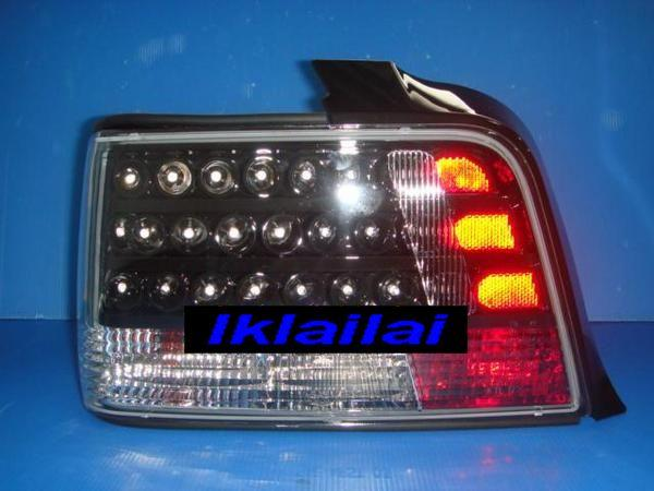 BMW E36 4D '91-97 LED Tail Lamp [Black Housing]