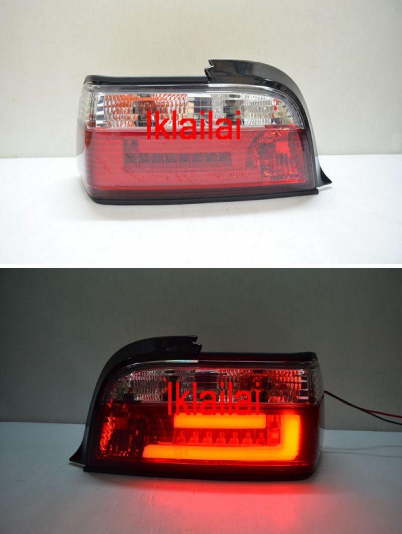 BMW E36 '91-97 2D LED Light Bar Tail Lamp [Red/Clear]