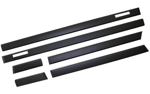 BMW E36 '91-97 2D Side Moulding Black M3 Look (BM01-SM03-U)