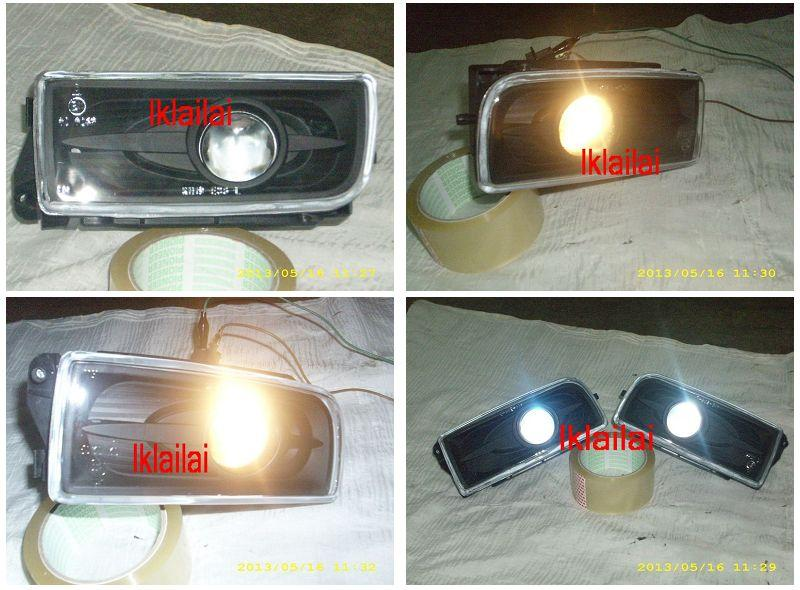 BMW E36 '91-97 Fog Lamp Crystal Projector Glass Lens [BM01-FL02-U]