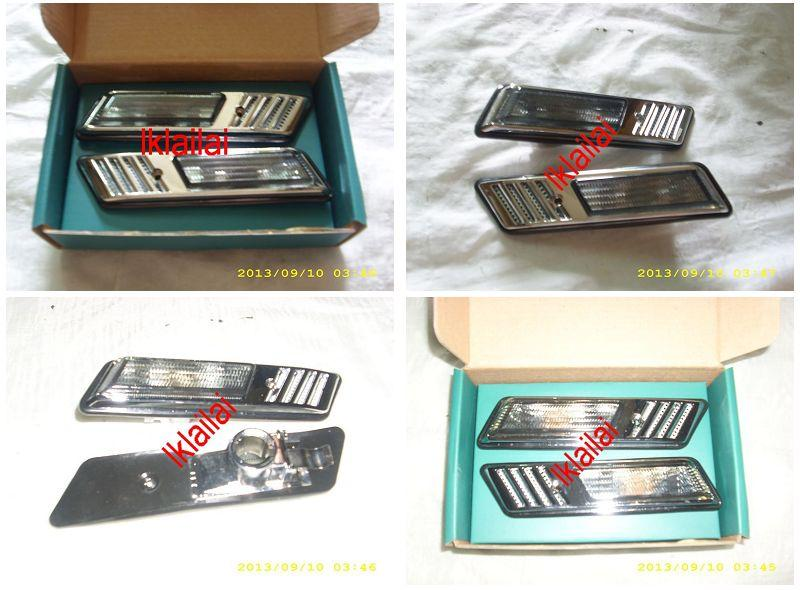 BMW E36 '91-97 Side Lamp Crystal Smoke /Clear (Z3 Look) (BM01-SL02-U)