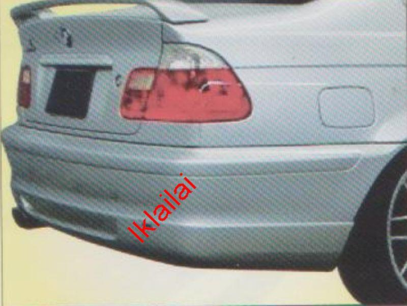 BMW E46 '00-02 REAR SKIRT [ACS]