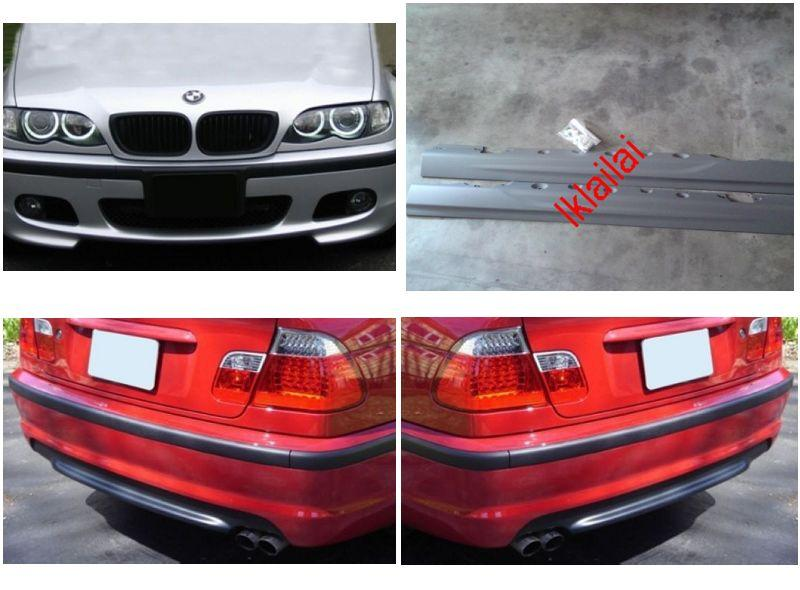 Bmw E46 98 04 M Tech Smg Full Set Body Kit Bumper Skirt Pp Material