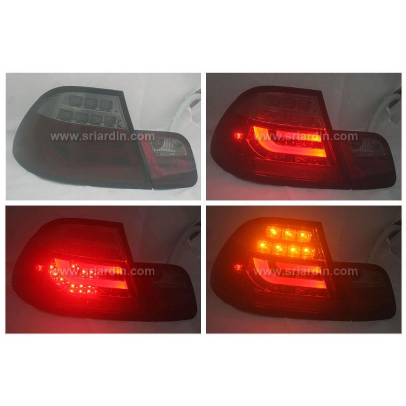 BMW E46 99-05 2 Door Light Bar LED Tail Lamp