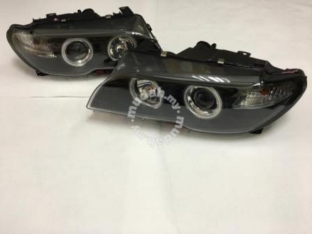 BMW E46 Coupe 03-05 2 Door Projector Head L& Black Base. u2039 u203a & BMW E46 Coupe 03-05 2 Door Projector (end 3/26/2018 3:15 PM)