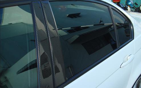 BMW E46 / E39  Door Pillar Cover with 3D Carbon (2pcs/set)