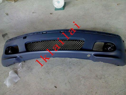 BMW E46 M-TECH (SMG) Front Bumper W/ Grille + Tow Hook Cover Fog Lamp