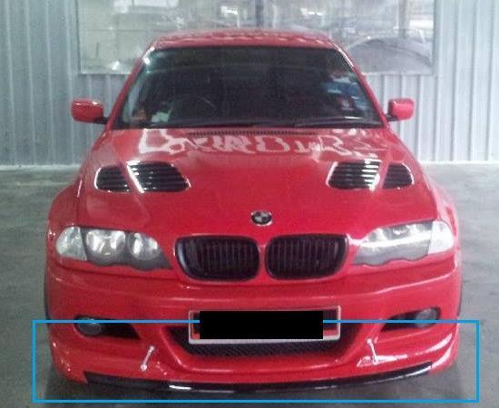 BMW E46 M3 FRONT BUMPER LIPS (end 5/20/2018 5:11 PM)