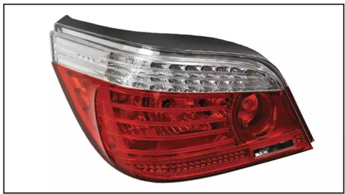 BMW E60 2003 TAIL LAMP CRYSTAL LED + LIGHT BAR