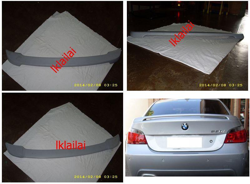 BMW E60 Rear Trunk Spoiler M-TECH Style FRP [BM13-SR01-U]