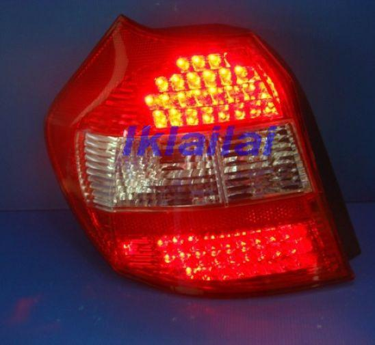 BMW E87 `04 Rear /Tail Lamp Crystal LED Red/Clear/Red [BM41-RL01-U]