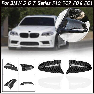 BMW F10 5 Series Carbon Fiber Replacement Side Mirror M Style