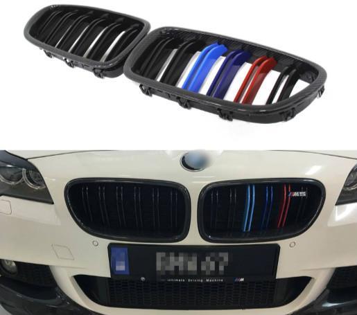 Bmw F10 M5 M 5 Series Carbon Front Kidney Grille 3 Colour Or Black