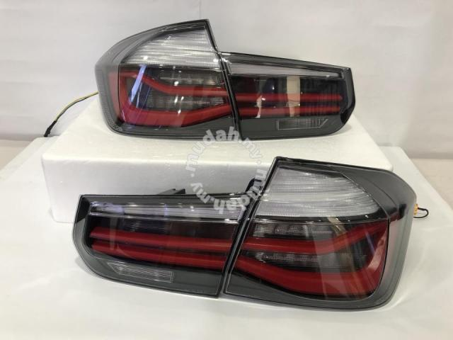 BMW F30 12-15 Led Tail Lamp Light Bar Black