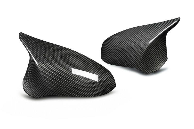 BMW F80 F82 F83 M3 M4 Carbon Rear View Side Mirror Cover Stick On Type