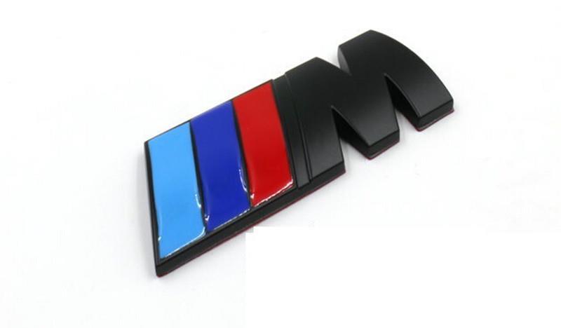 Bmw M Emblem M Power Matte Black End 692017 515 Pm