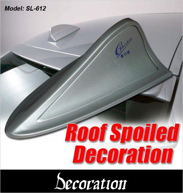 BMW M5 Series Design Shark Fin Roof Spoiler Universal Fitting [SL-612]