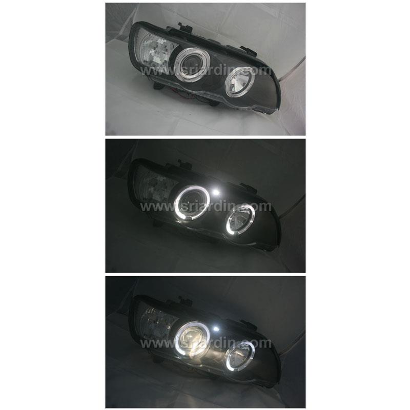 BMW X5 98-02 PROJECTOR HEADLAMP w Ring